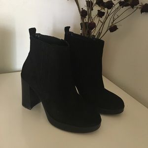 ALDO Black Heeled Booties